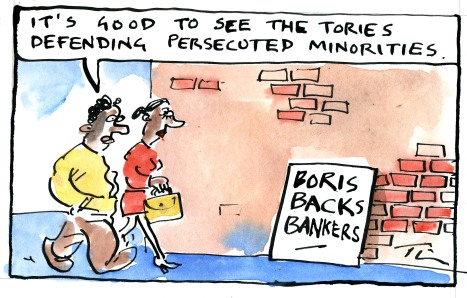 Tim, our cartoonist, gives his take on the Tory party conference