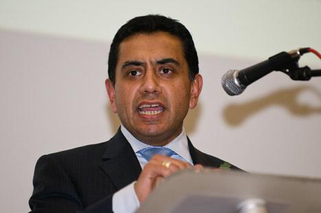 Conservative Deputy Chair Tariq Ahmed