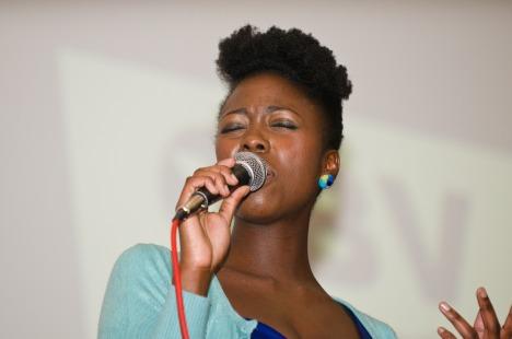 Singer Kadija Kamara