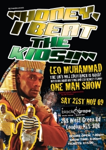 LEO MUHAMMAD eFLYER-Side One