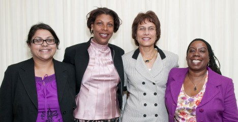 New Councillors: Cllr Pathumal Ali, Cllr Judith Best, Cllr Dr Sheila D'Souza & Cllr Margaret McLennan